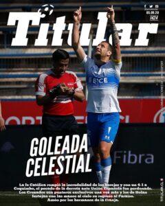 Los Cruzados golearon a Coquimbo con dos goles de Luciano Agued diario titular