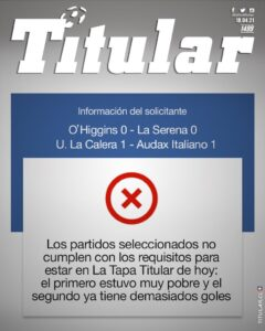 La Tapa Titular 1499
